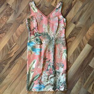 Talbots • Botanical Sleeveless Sheath Dress